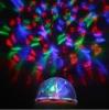 COOL RGB Full Color rotating Crystal RGB mini led stage lamp