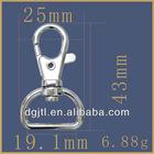 Fashion metal lanyard accessories clip hook
