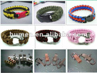 Hot sale paracord survival bracelet