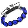 10mm Crystal Disco Balls Shamballa Bracelets