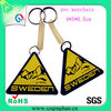 Wholesale Embossed Pvc Plastic Key Fob