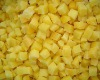 500g packing IQF yellow peach dice 10mm