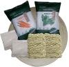 Organic instant noodles