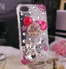 plain bling 3D cell phone case for iphone 4/4s mobile phone accessories for iphone 4g phone housing 303