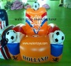 football inflatable chair