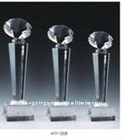 SPORTS DIAMOND CRYSTAL TROPHY
