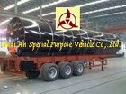 35kl two axles Bitumen Tanker Semi trailer(30 to 55 CBM )