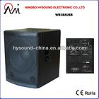 "18"" Sub active bass speaker,Professional Loudspeaker WB18AUSB"