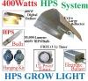 400 Watt Grow Light System WING REFLECTOR HOOD Electronic Ballast Kit