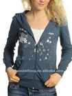 Ladies' Beaded Sweatshirt