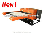 Automatic large sizes sportswear heat transfer printing machine