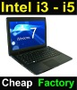 "Hot 14"" intel i3 2-core windows laptop with DVD"