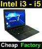 "Hot 14"" intel i3 2-core windows laptop with DVD"