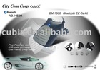 CUBIX Bluetooth Car kit with USB Charging Port BM-1308