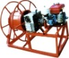 4 /5.5KW power self-contained reelwinder for conductor replacement and overhead earthwires stringing