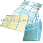 folding straw beach mat/folding beach mat