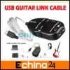 USB Guitar Link Cable PC To Guitar USB Interface Audio Link Cable Guitar Accessories