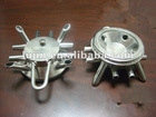 Stainless steel base of milking machine clawpiece