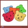 Promotion elegant bear shaped perspex cup coaster