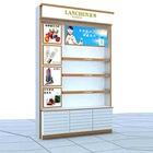 Supermarket cosmetic shelf