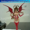 Japanese sexy cartoon girl figurines/3D polyresin sexy anime figrines toy
