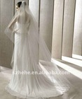 V005 2011 beaded and sequins tulle wedding veils