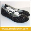 110616 Stock Ladies Flat Shoes