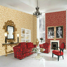 Ivy Vines PVC Wallpaper,Home Decorative PVC Wallpaper,Country Design PVC Wallpper