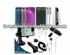 17 Accessory Stylus Case Car Charger for Apple iPhone 4