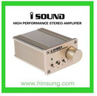 Golden Aluminum Stereo amplifier