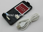 Apple Peel 818 with Dual SIM Card Slot & 2 External Battery for Apple iPhone 4 4G 4S