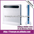 100% Brand New Original Unlock 100Mbps HUAWEI B593 Mobile Hotspot,4G LTE Wireless Router