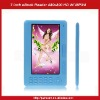 eBook Reader 7inch 720P HD Color Screen With MP3 MP4-Blue