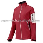 SUPER-TECH PTFE laminated women's waterproof and breathable softshell jacket