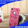 The sofe TPU material wholesale for iphone 4 custom back covers case