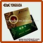 PVC mirror effect business card/Gift Card/VIP card