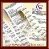 long-term durability adhesive sticker label,small order accepted