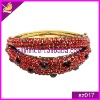 cheap colorful rhinestone alloy bracelet