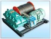 JM model electronic control slow speed electric winch 20 ton