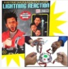 Amusing Electric Shock Reaction Game Machine Foursome Lightning Reaction Game