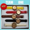 2012 New Five Color in Stock Excellent Wrist Watch with PU Wristband UDTEK00809