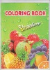 kids Eco-friendly cartoon fruit coloring book