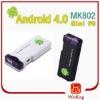MK802 Android 4.0 mini pc for Tablet PC google android 4.0 mini pc smart tv box HDMI stick