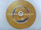 Hi-Q 100*2.5*16 or 100*3.0*16 or 115*3.0*22.2 or 125*3.0*22.2mm aluminum oxide cutting disc