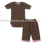 New bamboo Romper set