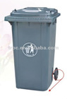 240L Garbage bin with 2 wheel in virgin plastic material