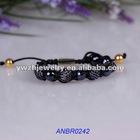 2012 Fashion pave cheap pink shamballa bracelet meaning jewelry