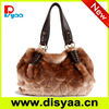 New! fashion women's rabbit hair / fur bags