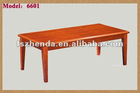 Simple Design coffee table in MDF with paper 6603A