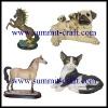 Custom resin small animal sculpture